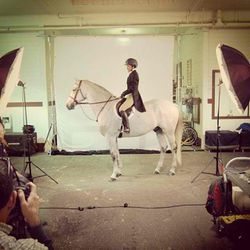 """This year, the horse show committee selected Peter Samuels as """"<a href=""""http://horseandstylemag.com/mosiac/ready-when-you-are.html"""">Artist of the Year</a>."""" The talented photographer specializes in shooting animals, people, and products. His prints are av"""