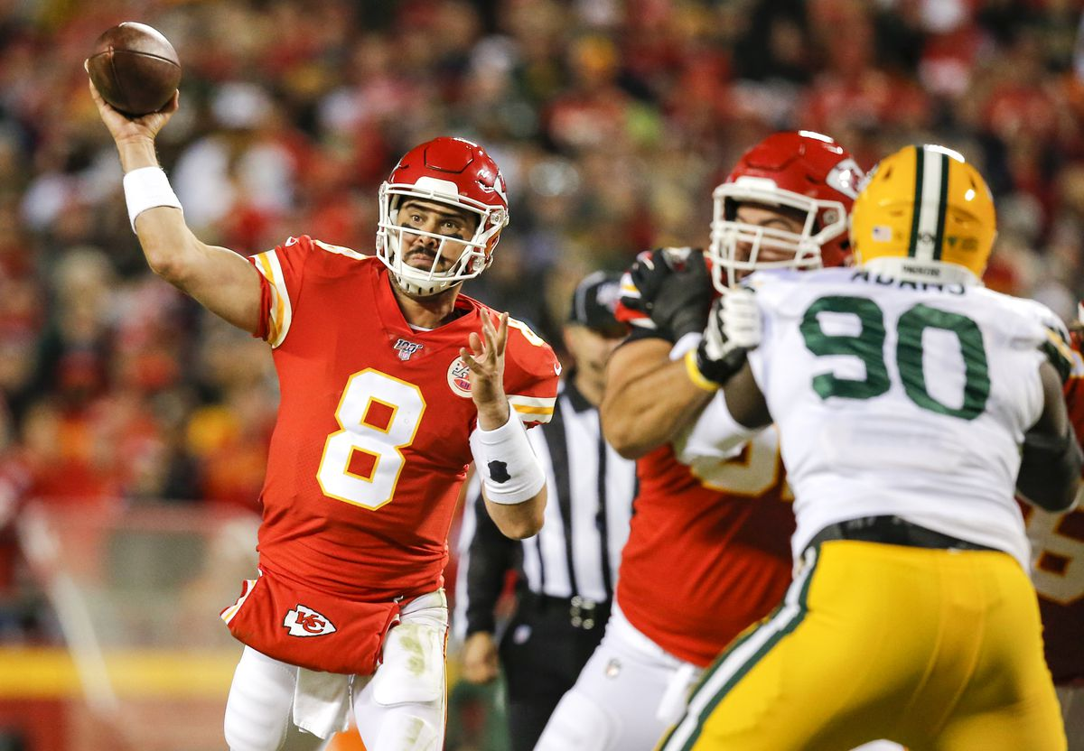 of the Green Bay Packers against the Kansas City Chiefs