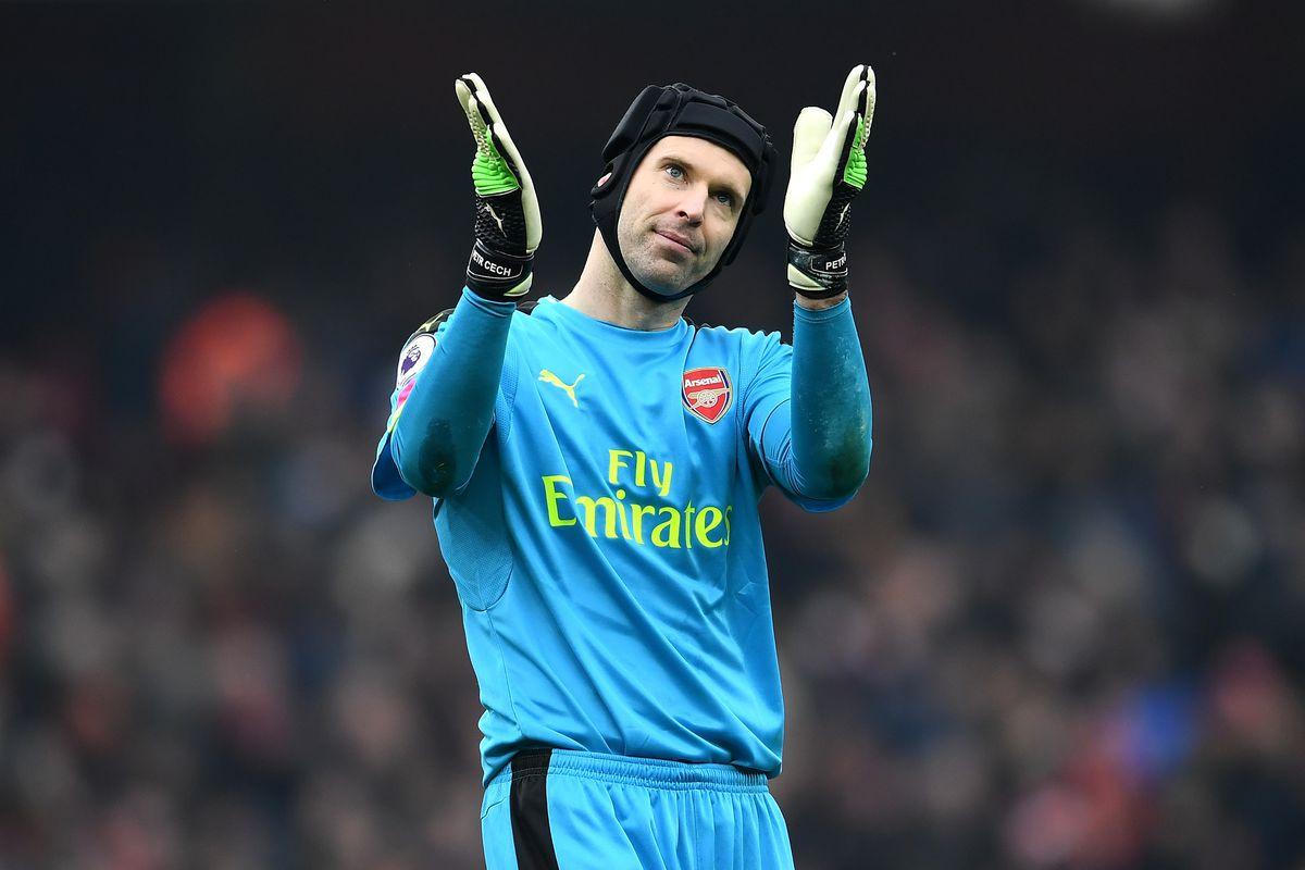 Arsenal GK Petr Čech