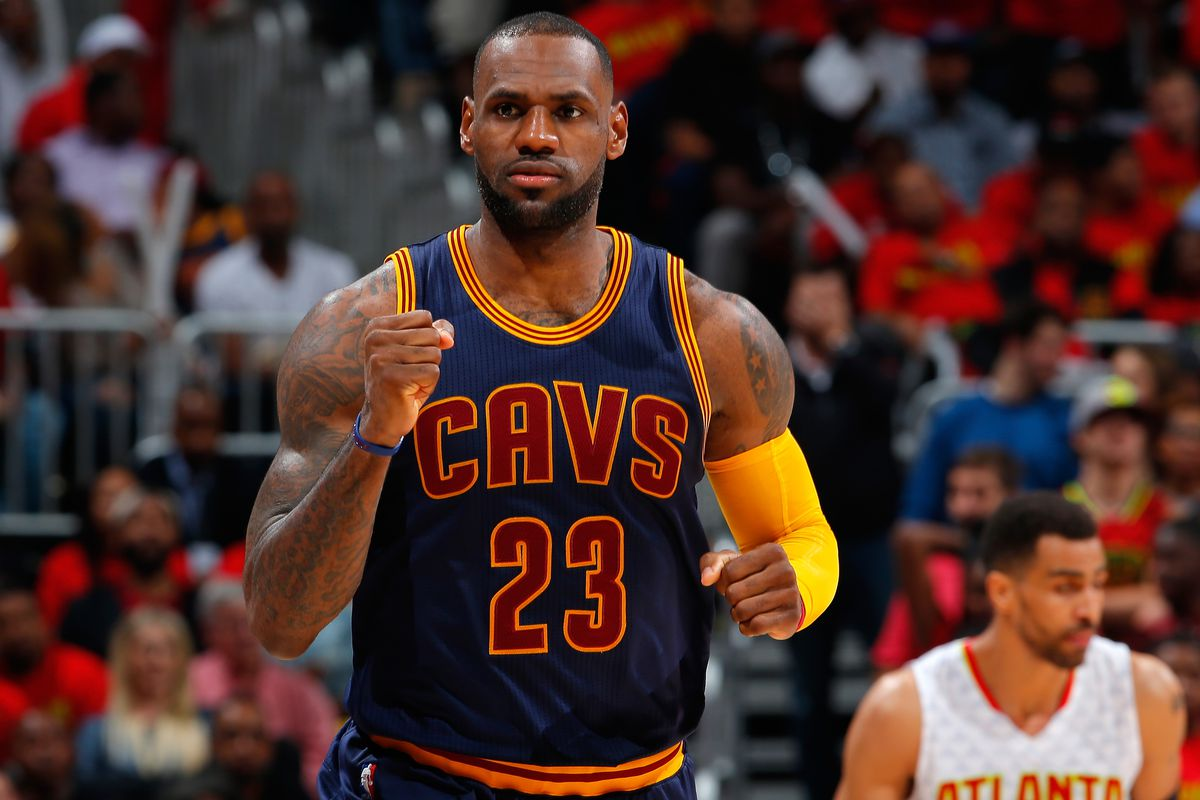 Nike is paying LeBron James a lot of money to rep them for the rest of his  life.