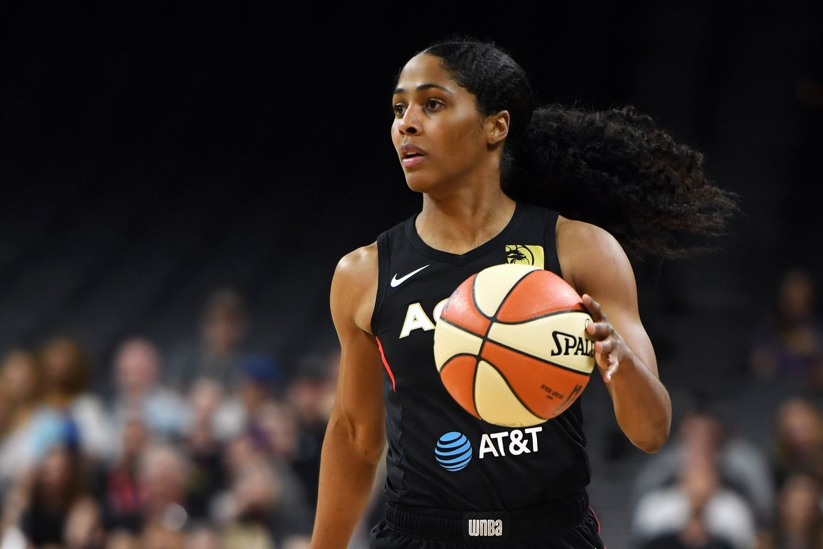 Sydney Colson, who tested positive for the coronavirus in June, joined the Sky at practice Monday for the first time this season.