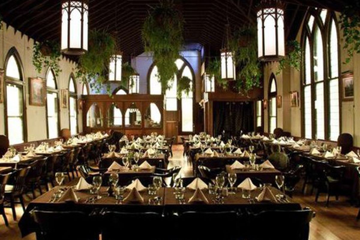 """<span class=""""credit"""">The dining room at Redemption. </span>"""