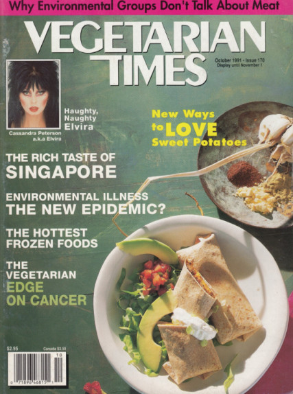 Paul Obis founded Vegetarian Times, which for years was based in Oak Park.