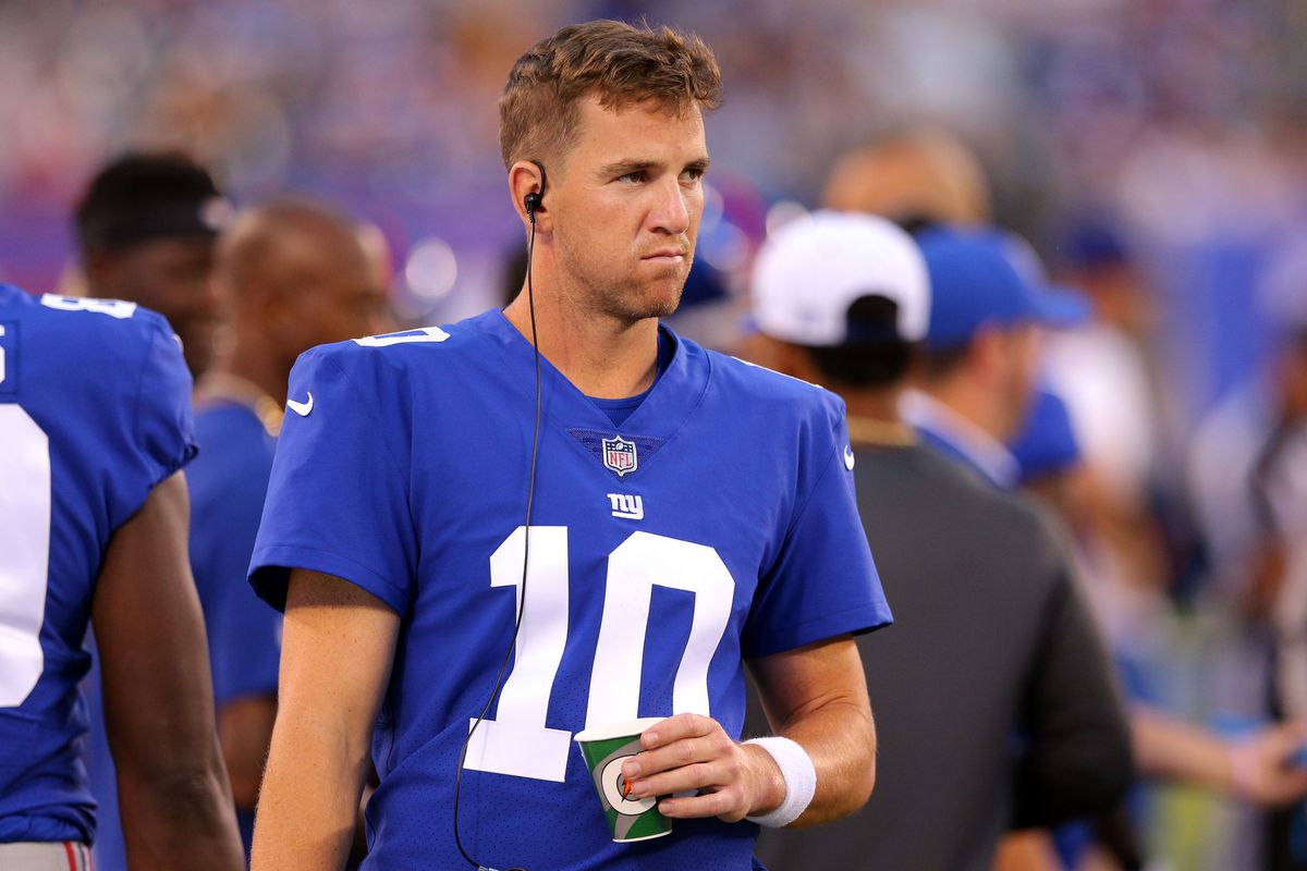 Eli Manning 2017 Stats >> New York Giants News, 8/16: Eli Manning Wants To Play Four More Seasons - Big Blue View