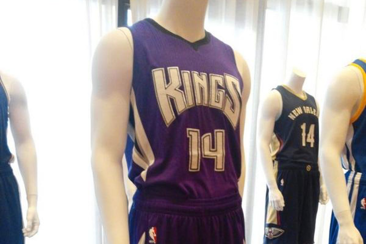 best service 3b966 616c8 First look at Sacramento Kings' new regular, holiday and ...