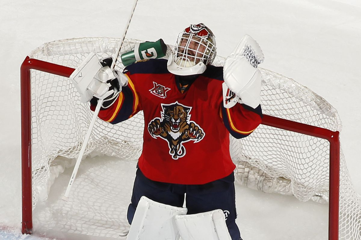 The Panthers need a healthy Tim Thomas the rest of the way.