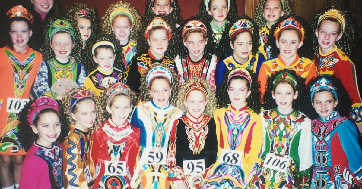 The Glitzy Evolution of the Age-Old Irish Dance Dress - Racked
