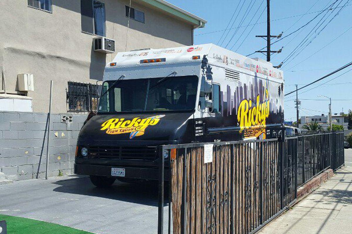 The Ricky's Fish Tacos truck