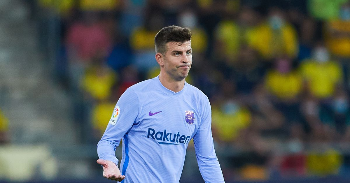 Gerard Pique: I don't wear the Barçelona shirt to finish second or third - Barca Blaugranes