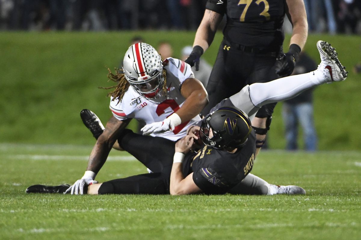 Northwestern-Ohio State Rapid Reaction, Final Score: 'Cats demolished by Fields, Dobbins, Young, Buckeyes, 52…