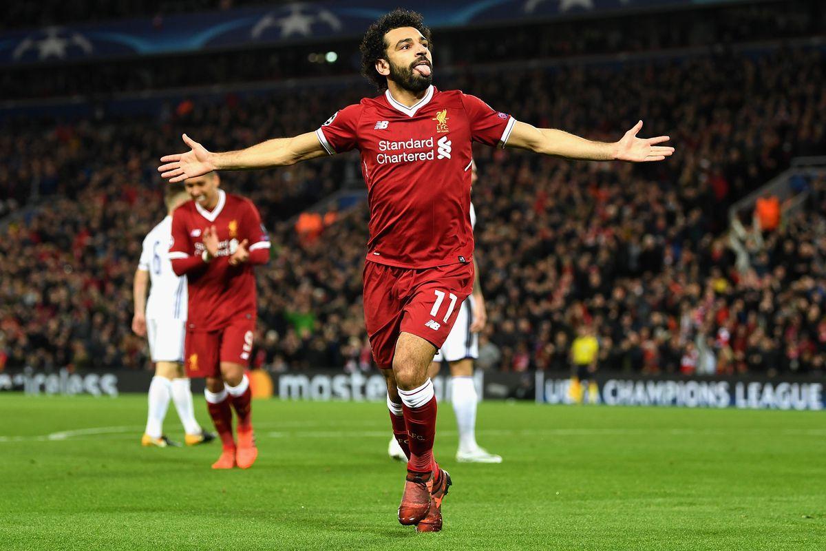 """Maradona Praises """"Wonderful"""" Mohamed Salah The Liverpool fside"""