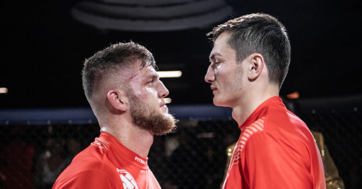 UFC veteran Ismail Naurdiev vs. Amiran Gogoladze to crown welterweight champion headlines EMC 6