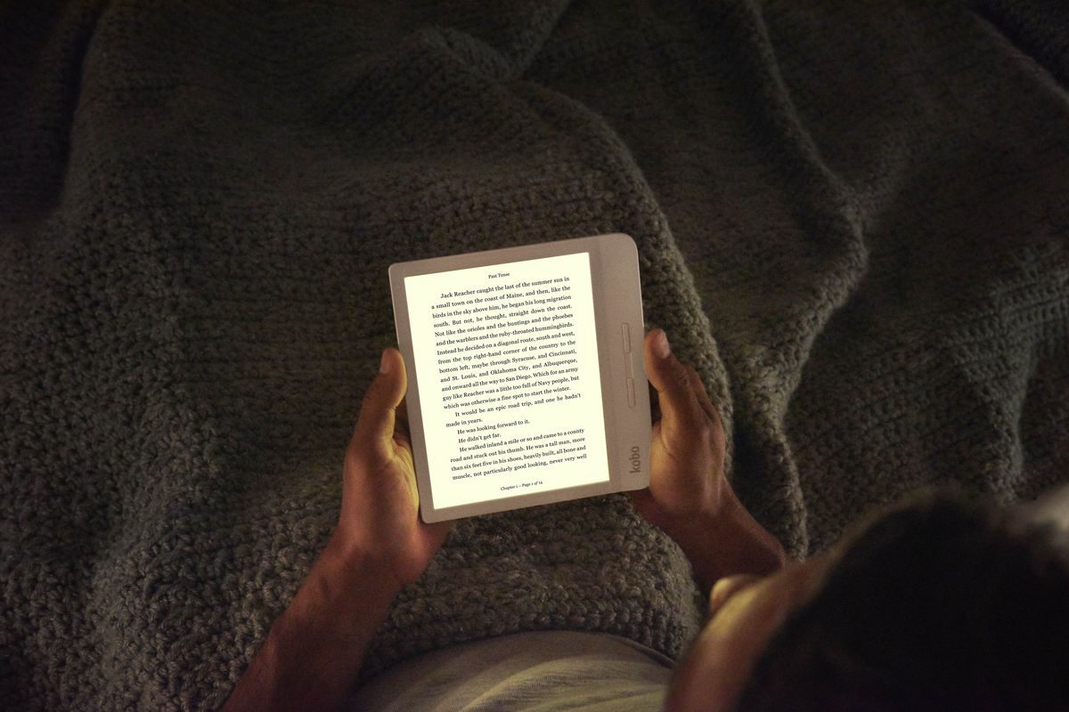 Kobo's new Libra H20 is like a cheaper Kindle Oasis - The Verge