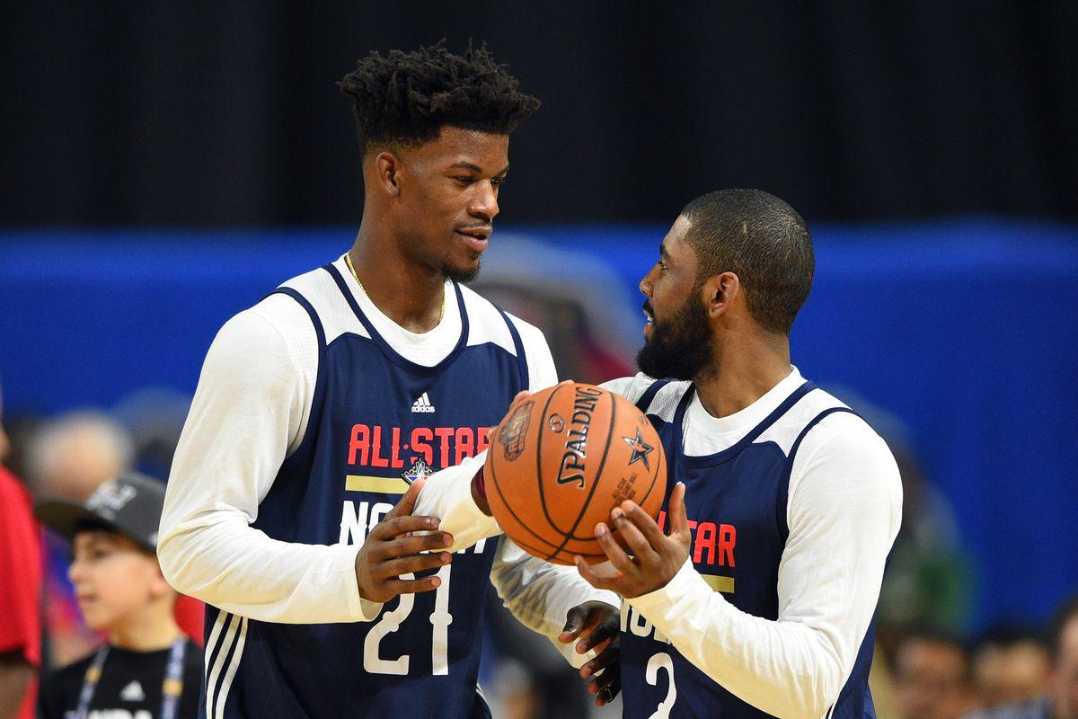 NBA: All Star Practice