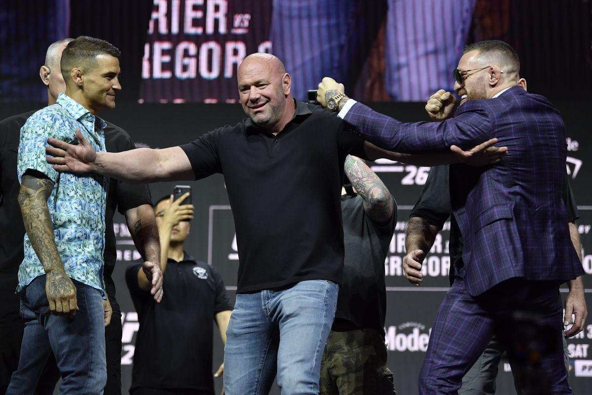 UFC 264 Dustin Poirier vs. Conor McGregor Press Conference