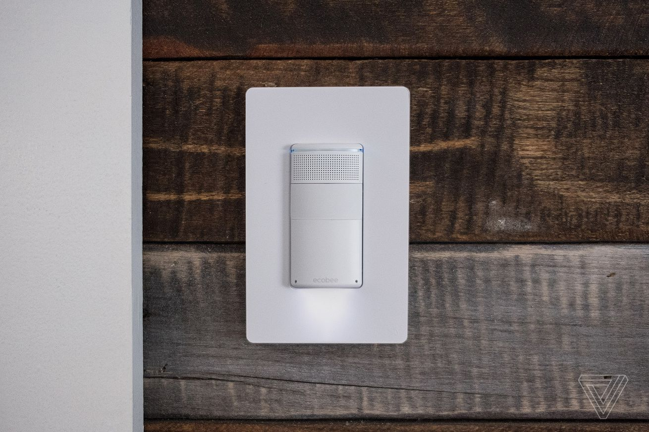 ecobee s new switch puts alexa in your light switch