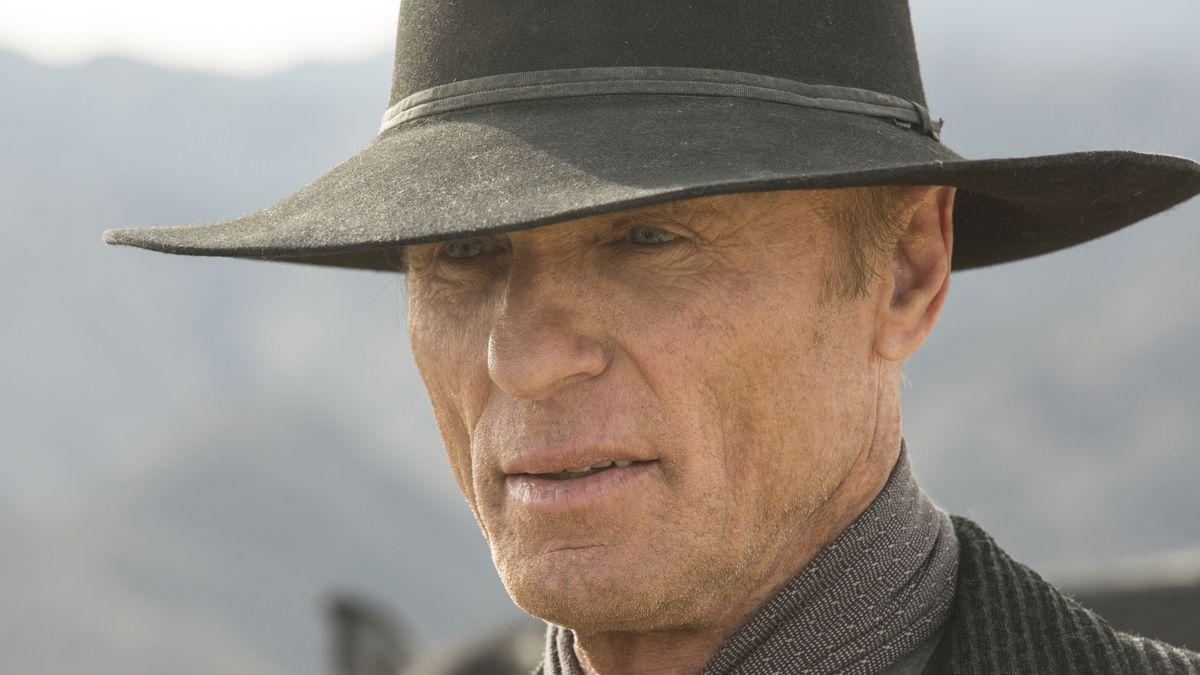 Ed Harris as the Man in Black in Westworld.