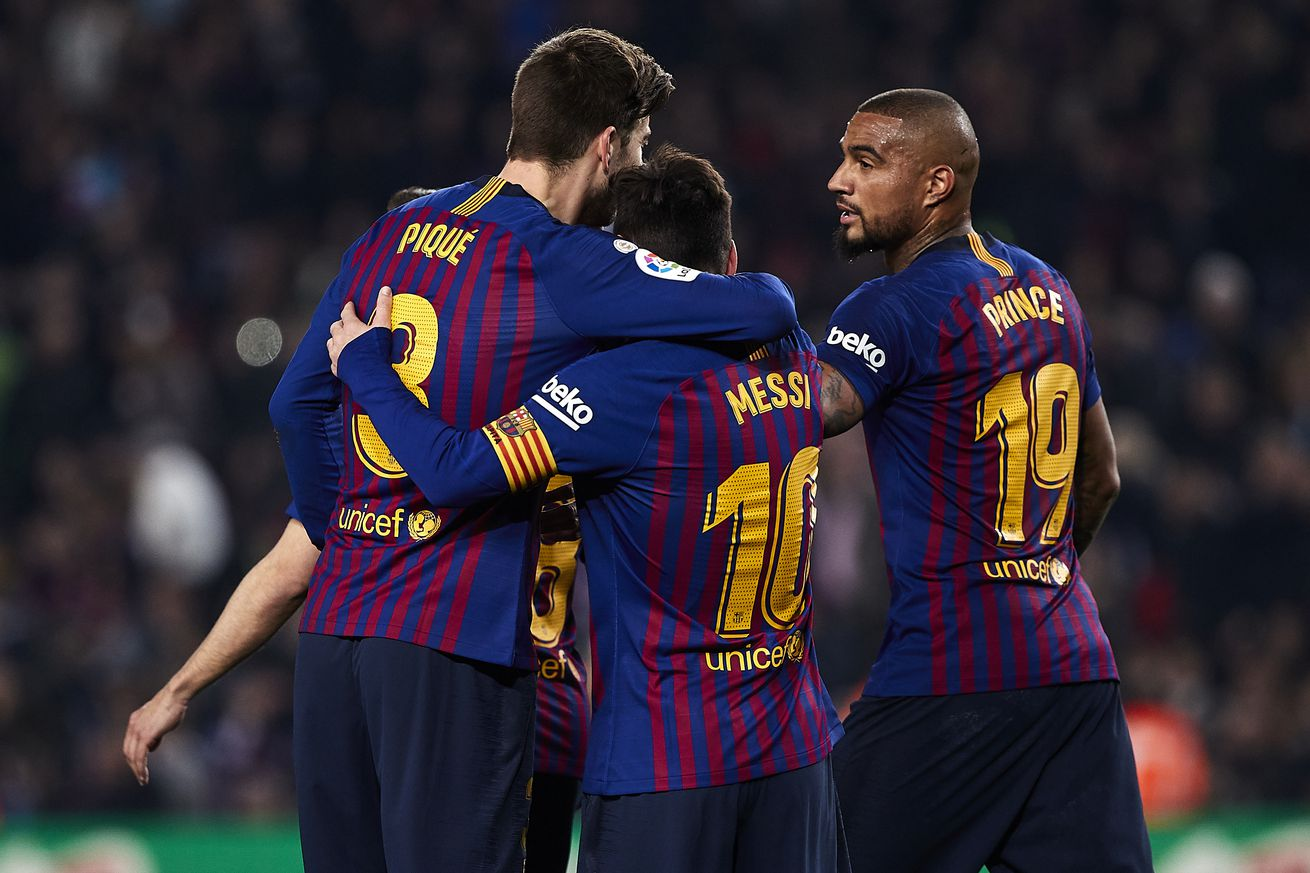 Training with Messi  ?left me speechless? - KP Boateng