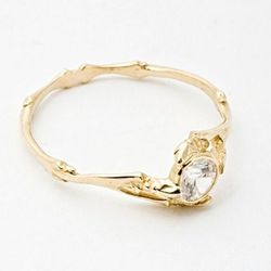 """<b>Bittersweets NY</b> Twig Ring, <a href=""""https://catbirdnyc.com/shop/product.php?productid=17402&cat=361&page=1"""">$2,800</a> at Catbird"""
