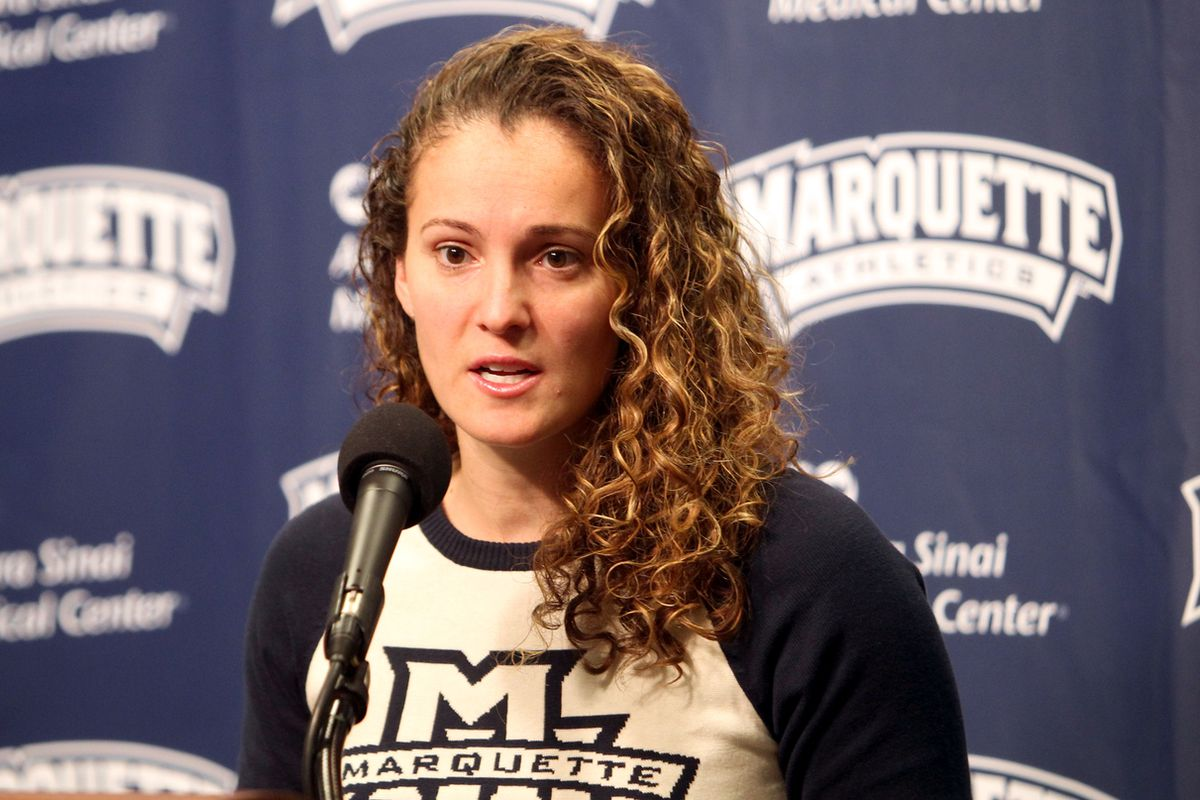 Head coach Carolyn Kieger's hustling on the recruiting trail.