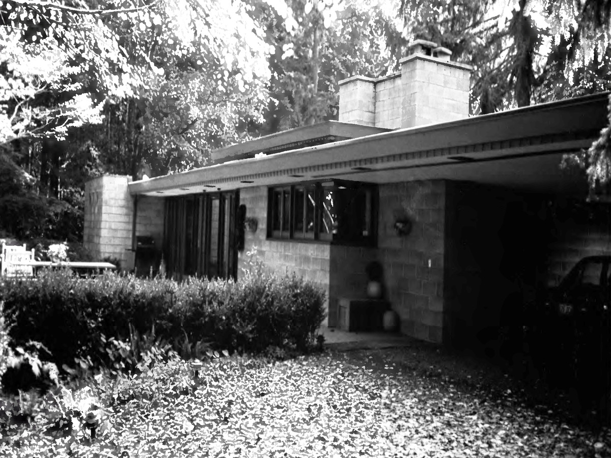 Frank Lloyd Wright's 5 closest homes to Seattle, mapped
