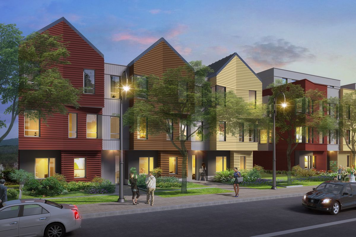 jamaica plain condos drop near forest hills t stop curbed boston