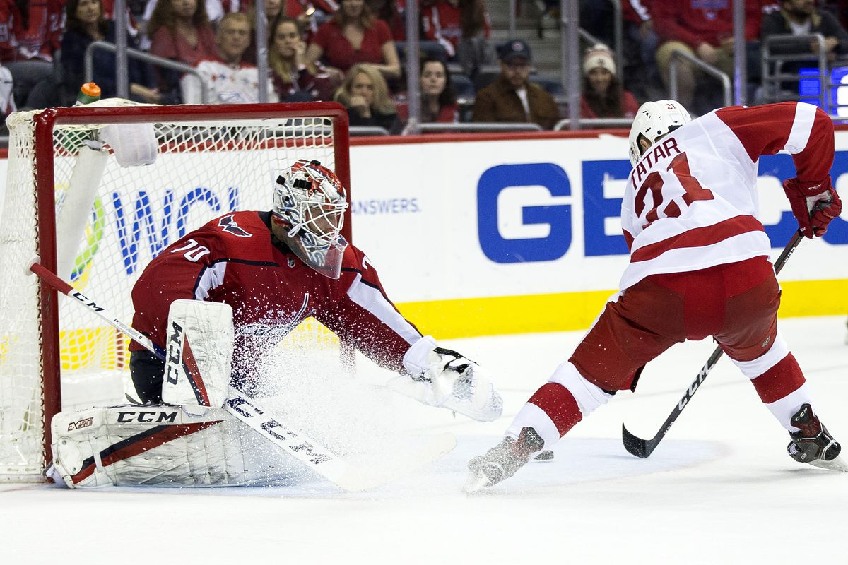 NHL: FEB 11 Red Wings at Capitals