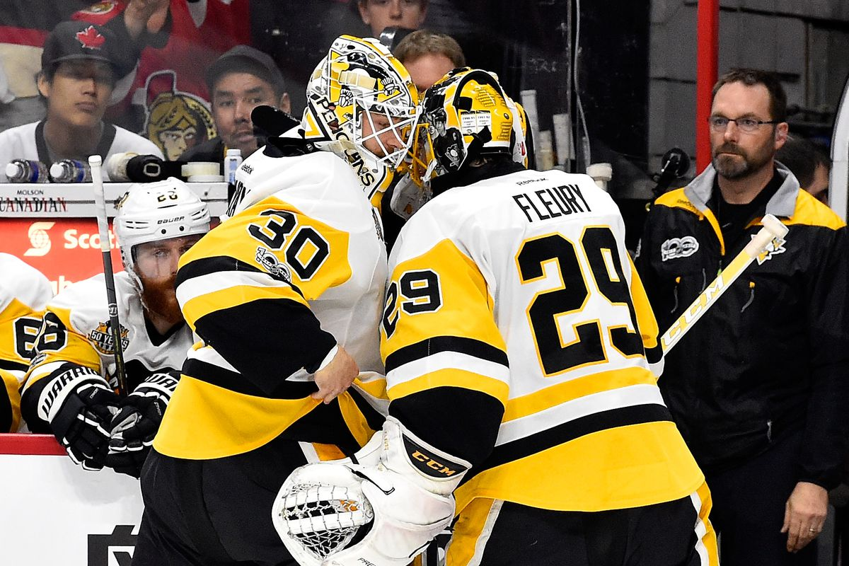 cheaper 97bbd 2599f Matt Murray AND Marc-Andre Fleury for Conn Smythe? Why not ...