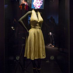 Almost last but certainly not least, Marilyn Monroe's iconic white halter dress from <i>The Seven Year Itch</i>.