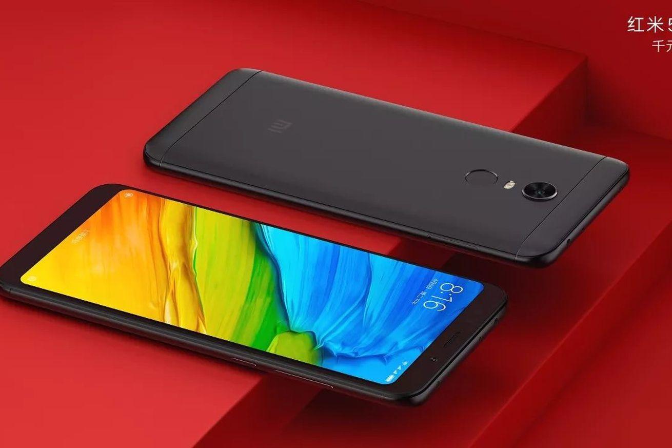 xiaomi shows off upcoming redmi 5 and redmi 5 plus full screen smartphones