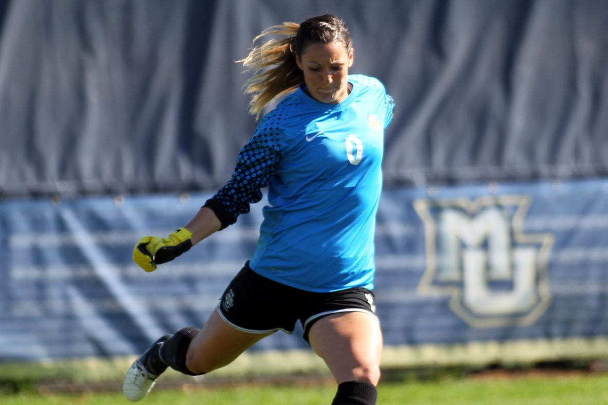 How wil Amanda Engel fare with the least experienced back line that she's had since coming to Marquette?