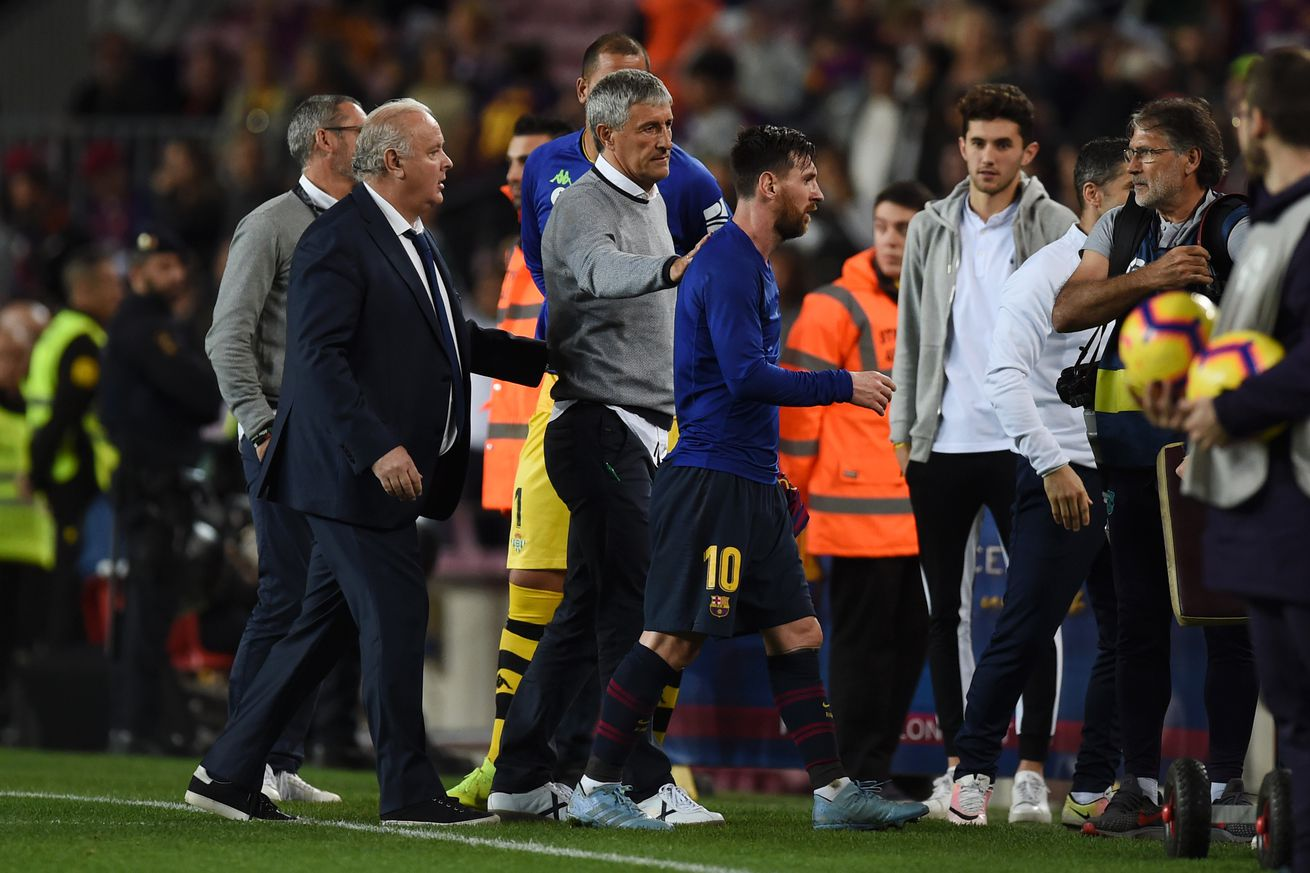 Setien talks managing Messi at Barcelona