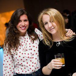 Former Racked intern Rachel Traub and friend