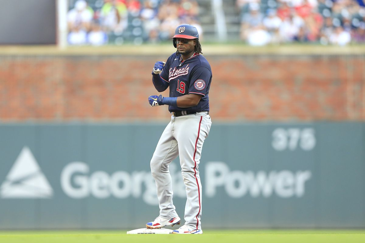 MLB: AUG 07 Nationals at Braves