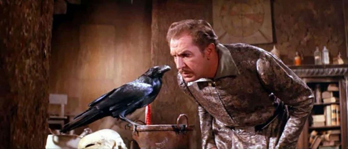 Vincent Price in The Raven (1963)