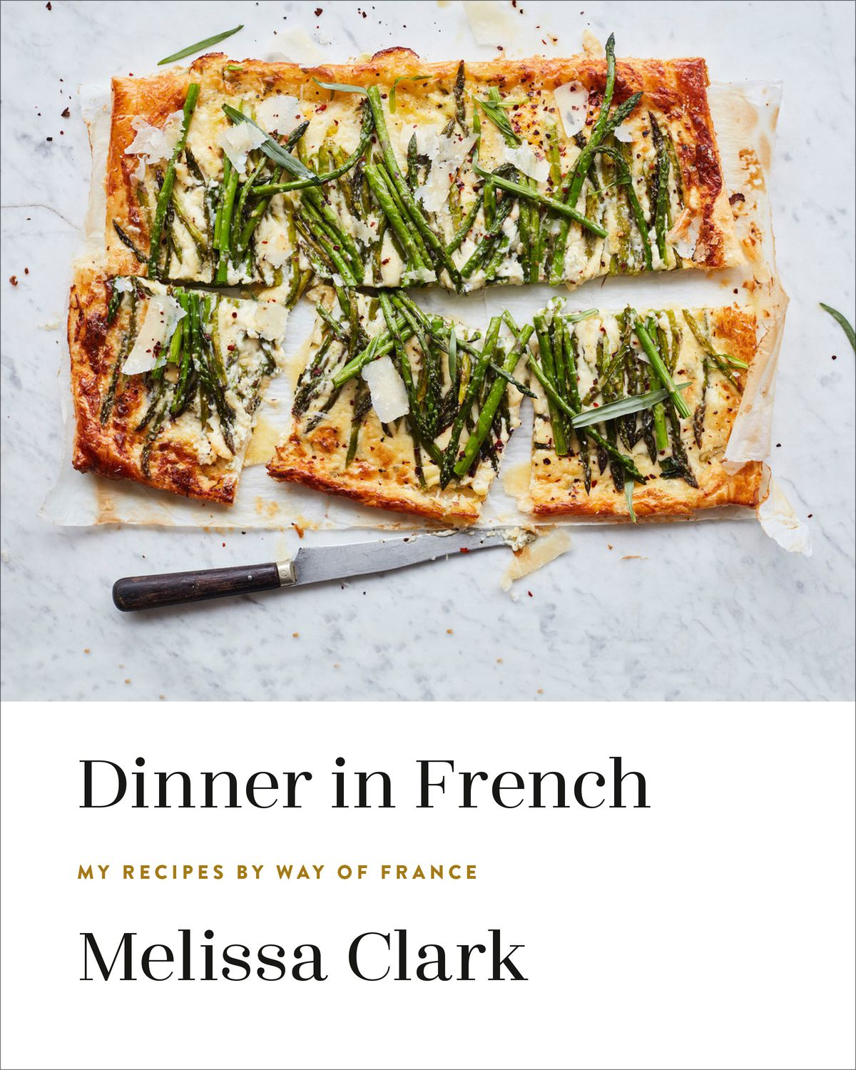 The book cover for Dinner in French