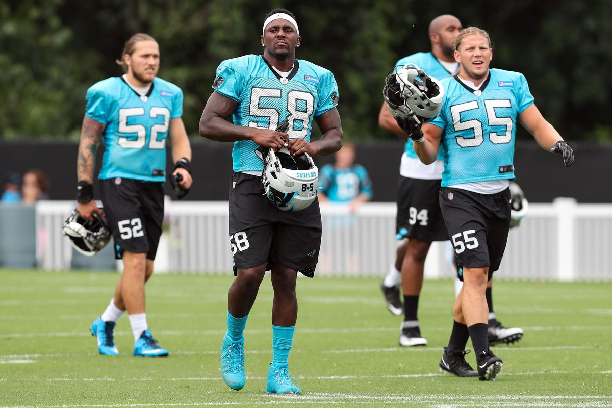 86b054f4 Panthers Training Camp Review: Pads go on, tempers go off - Cat ...