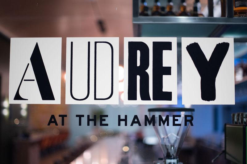 Audrey at the Hammer Museum Westwood