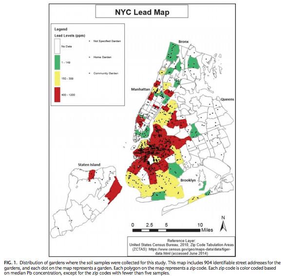 Its Not Just Flint Every Major American City Has Hazardous - Soil color us map