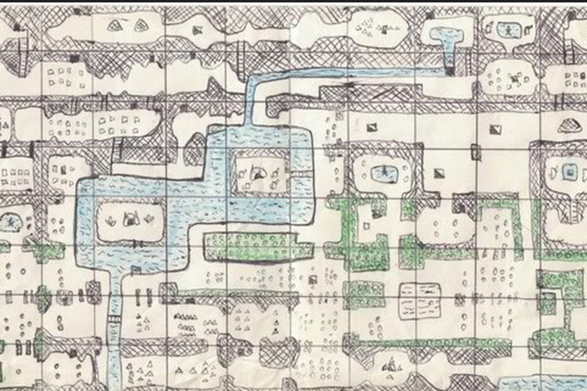 Hand Drawn Video Game Maps Are Physical Memories So Let S