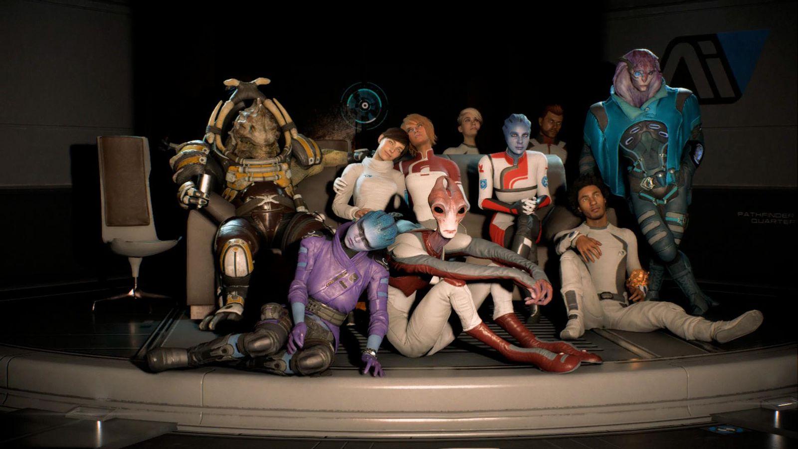 Mass Effect Andromeda Drinks