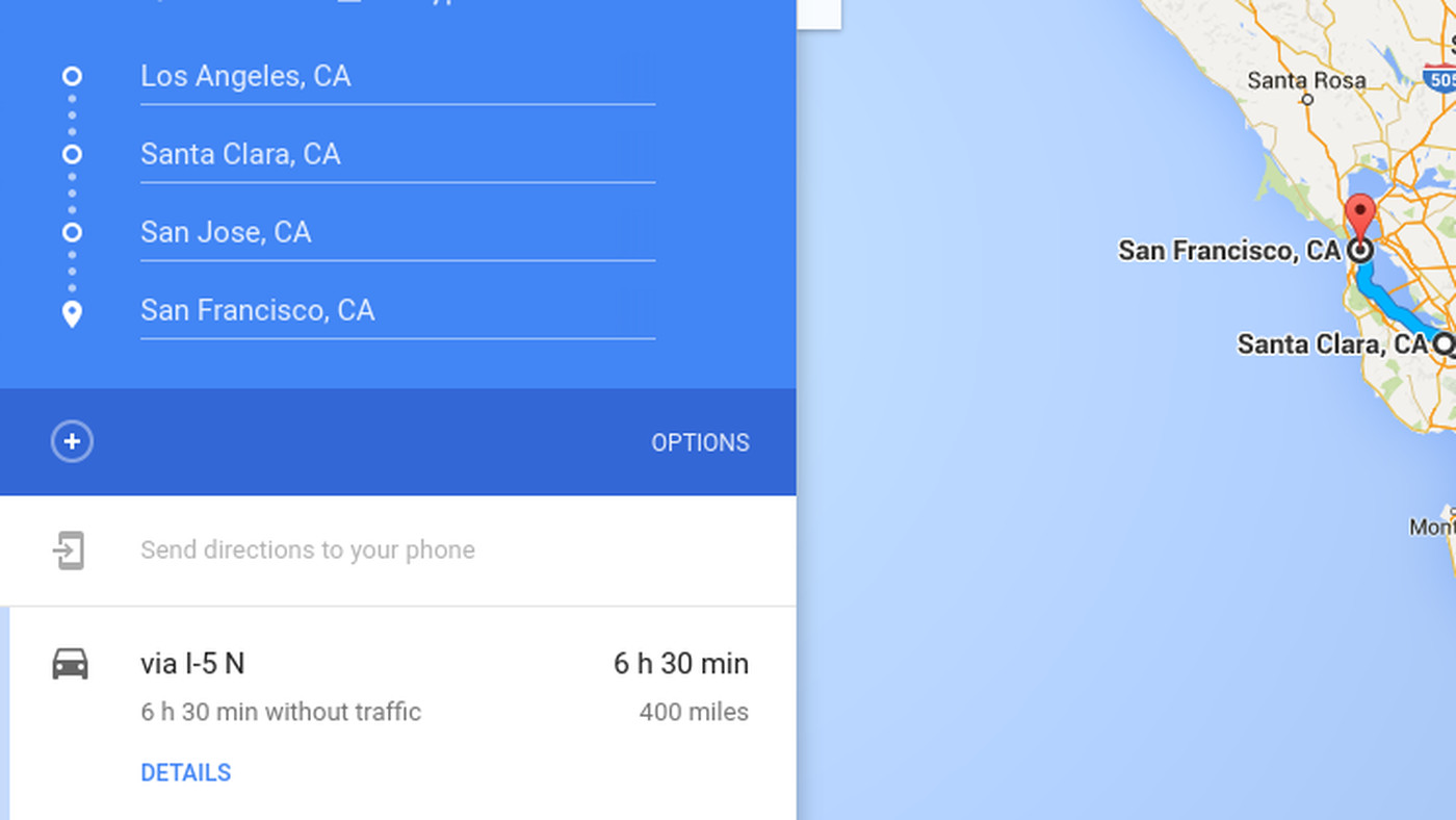 Google Maps for iOS now supports multiple destinations - The Verge on