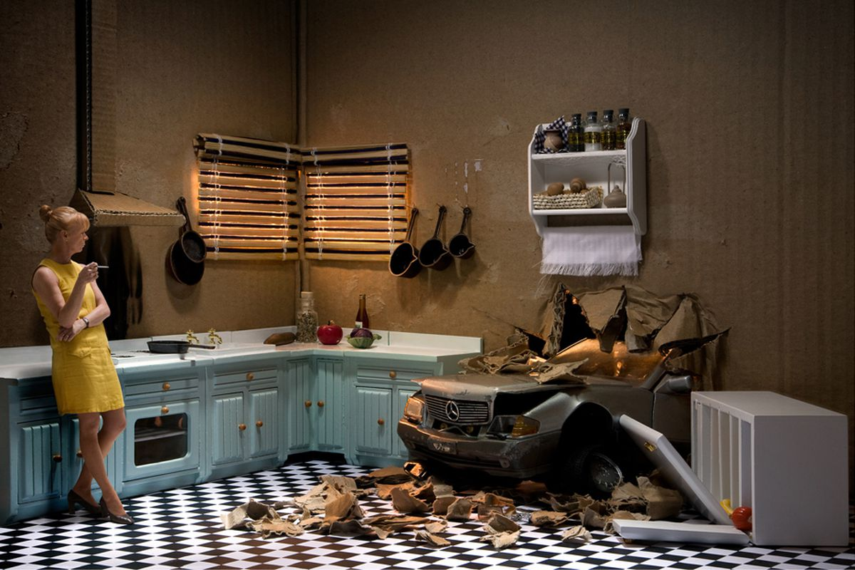 Box Diorama Photos Depict Life S Darker Moments Framed