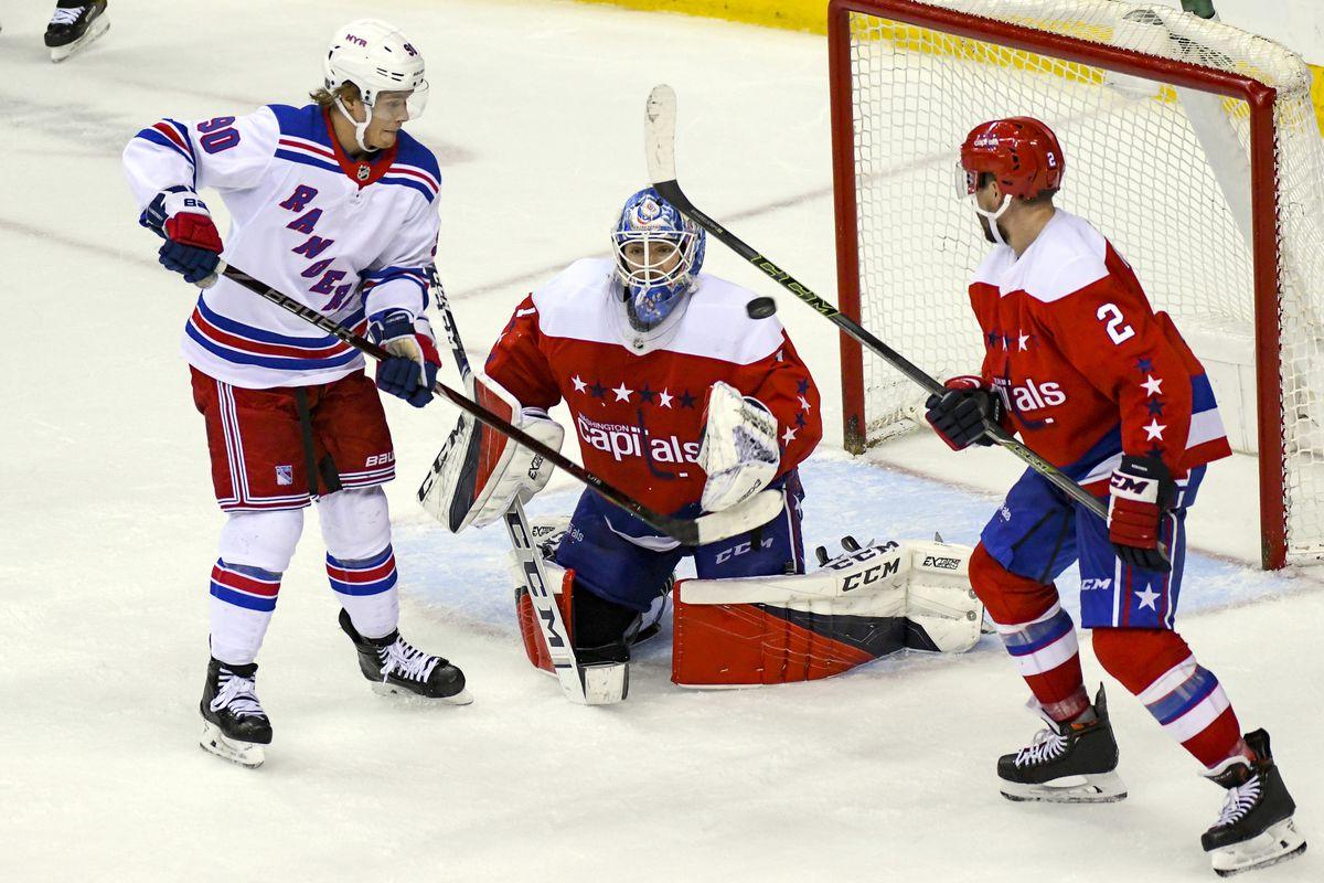 NHL: FEB 24 Rangers at Capitals