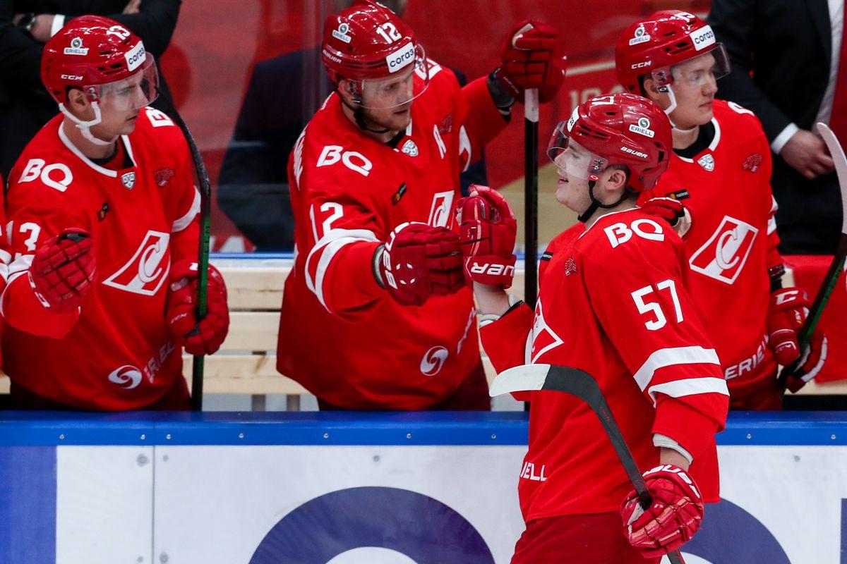 2021/2021 Kontinental Hockey League: Spartak Moscow vs Admiral Vladivostok