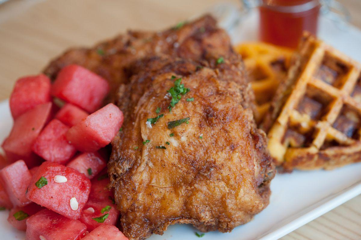 Yardbird's fried chicken