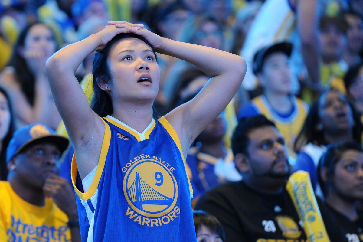 Golden State Warriors Host NBA Finals Game Six Watch Party
