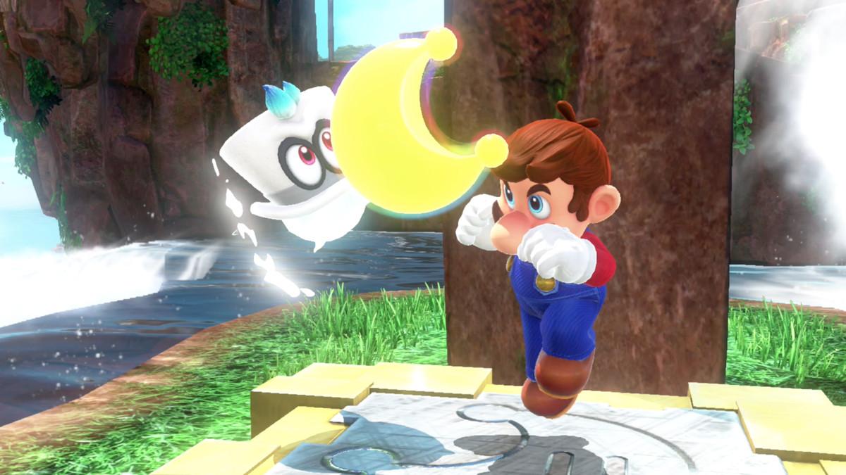 Super Mario Odyssey guide: Cascade Kingdom all power moon