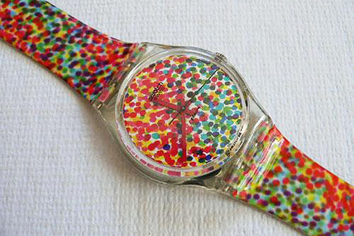 """Vintage Swatch via <a href=""""http://www.swatchandbeyond.com/index.php?productID=544"""">Swatch and Beyond</a>"""