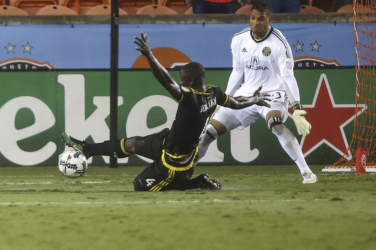 MLS: Columbus Crew SC at Houston Dynamo